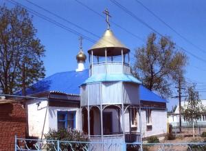 церковь Цаган-Аман
